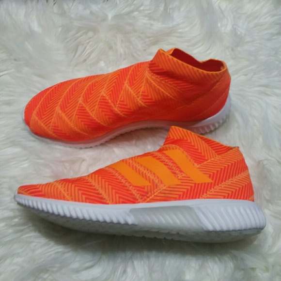 New Adidas Nemeziz Tango Orange Sneakers